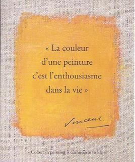 Citaat Vincent van Gogh