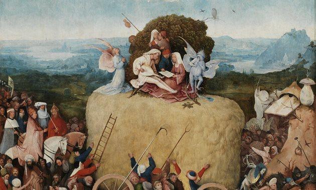 De Hooiwagen, ca. 1515, Museo Nacional del Prado
