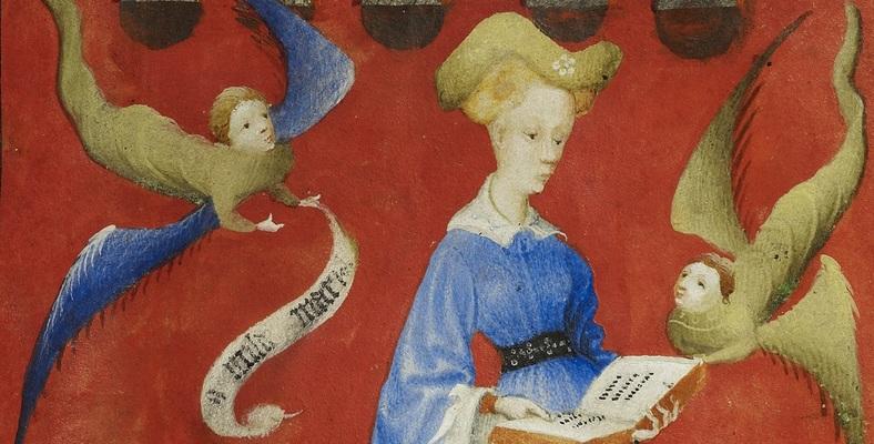 Gebedenboek van Maria van Gelre, ca. 1415, Perkament, 18,4 x 13,2 cm, Staatsbibliothek zu Berlin